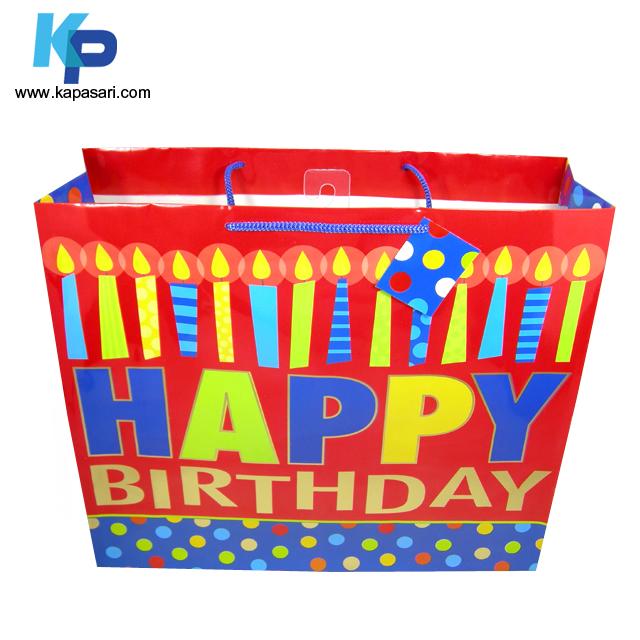 Jumbo Birthday Paper Gift Bag